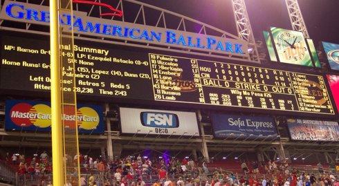 Final Scoreboard: 11-6