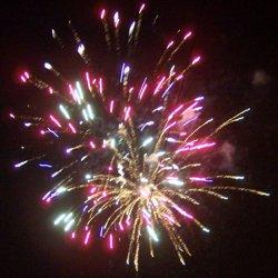 Fireworks extravaganza!