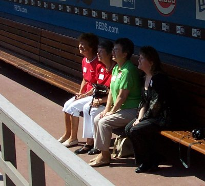 Women? In the dugout?