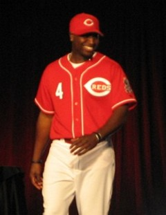 Brandon Phillips: 2007 Alternate Home Uniform