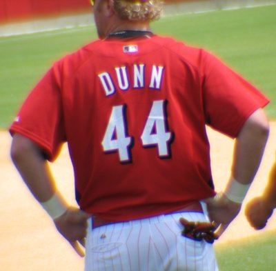 Adam Dunn: lookin' good standing around
