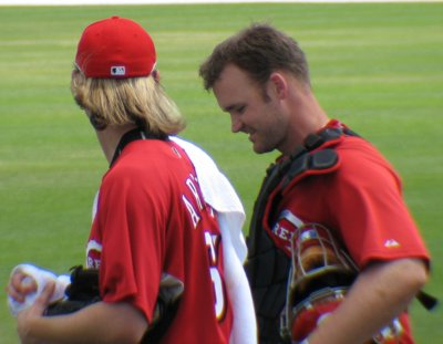 Bronson Arroyo: lookin' good finally getting ready