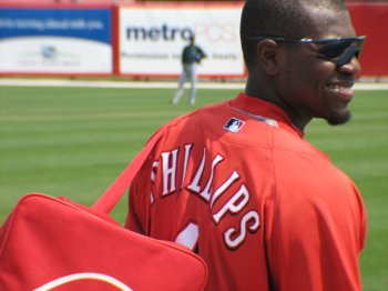 Brandon Phillips is hot (even if his corner isn't)