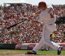 Adam Dunn hits home run number 1 / 199