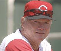 Cincinnati Reds pitching coach Vern Ruhle