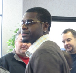 Brandon Phillips in civvies