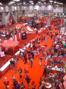 Redsfest 2009 from above.
