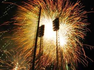 Reds Opening Night fireworks