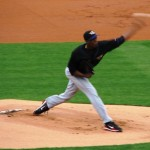 Chapman is a blur because everything he does is fast
