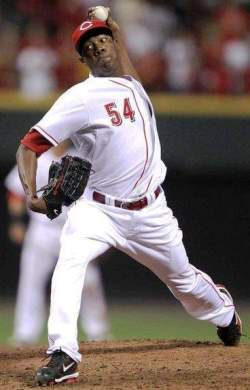 Chapman has been having a rough time of it lately, but not on the mound