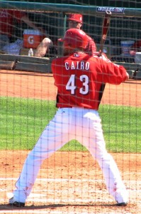 Cairo off the DL?