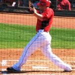 Frazier swinging