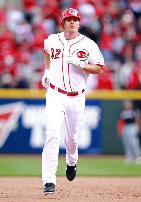 Jay Bruce walking on air