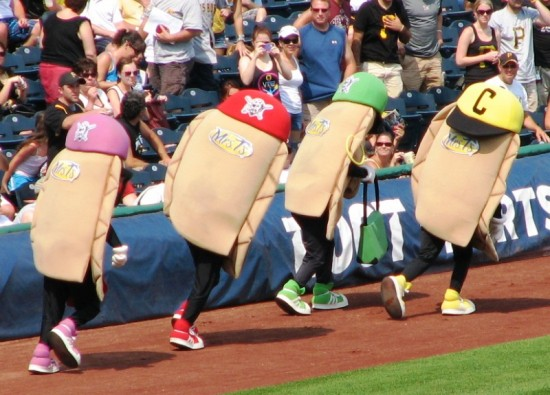 And the pierogis are off!