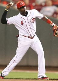 Brandon Phillips throwing