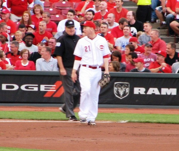 Todd Frazier is friendly to everyone, include the dreaded men in blue.