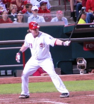 Hanigan at the plate
