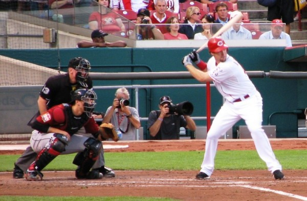 Ryan Ludwick at the plate.