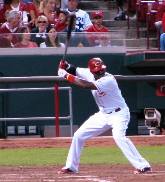 Brandon Phillips about uncoil and hit a home run to give the Reds the lead.