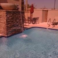 The pool at the Hilton Garden Inn in Avondale, AZ