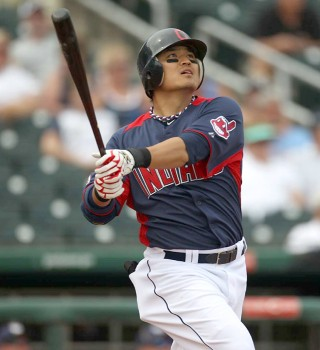 Shin-Soo Choo in a pose I hope to see a lot with the Reds