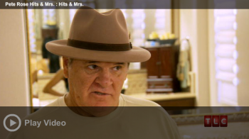 Pete Rose talking on his new reality show on TLC.