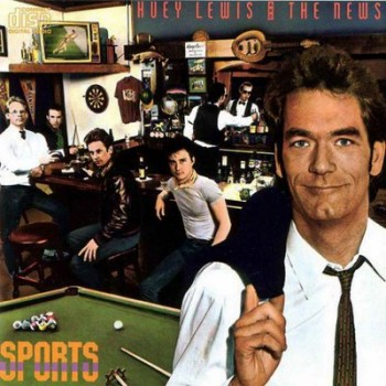 The cover of Huey Lewis and the News' Sports album