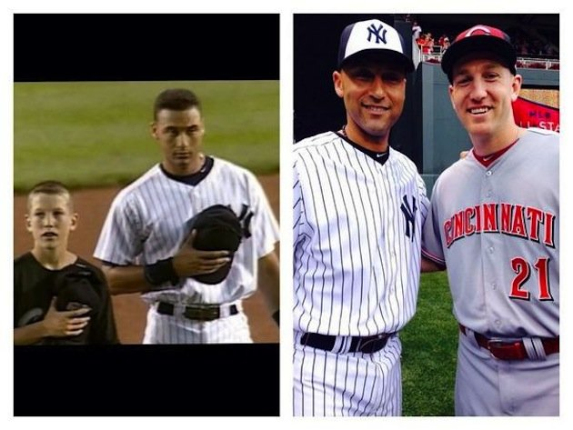 Frazier and Jeter, 16 years apart