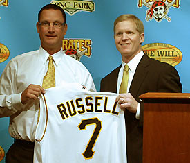 Russell named Pirate Manager