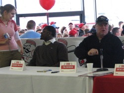 Brandon Phillips and Tom Browning - Reds Caravan