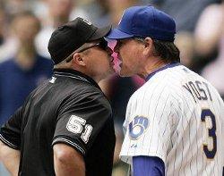 Ned Yost vs. Umpire