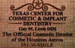 Astros' Official Cosmetic Dentist