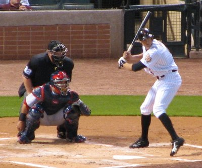 Hunter Pence at bat