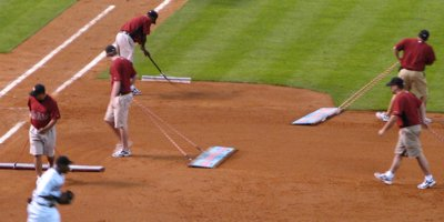 The Astros Bubbles grounds crew