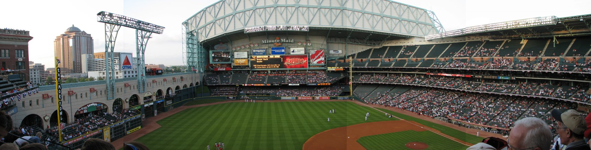 Panoramic View of Minute Maid Park