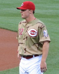Jay Bruce in camouflage