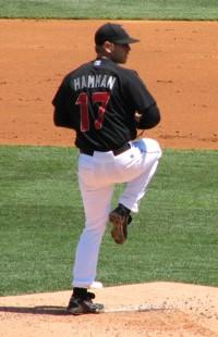 Corey Hamman pitching