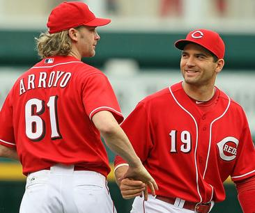 Goodroyo and Votto on top