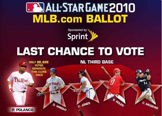 Vote Votto and other Reds!