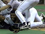 Griffey Jr's winning run in the 1995 playoffs
