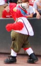 Apparently, Gapper honors German heritage by wearing pants
