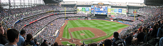 Brewers Miller Park Panorama