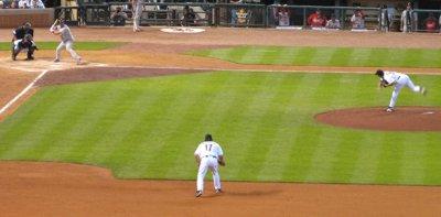 Albert Pujols at bat in 2008
