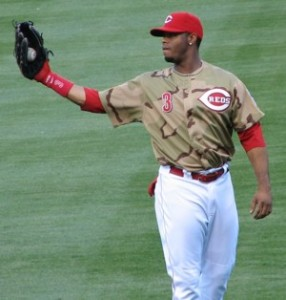 Ken Griffey Jr on his camouflage jersey giveaway day