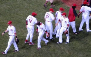 The Reds reached double digits in spring training wins with 5 whole days left till Opening Day!