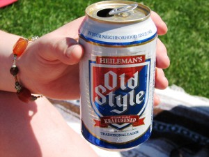 Old Style at a Cubs game