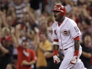 I think Phillips was screaming in unison with every Reds fan
