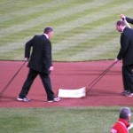 Like the FS Ohio crew, the grounds crew dressed up, too.