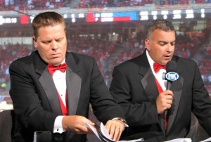 Jim Day and Jeff Piecoro dressed up to the 9s for Opening Night.