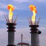 New for 2012: the center field smoke stacks emit bursts of flame everytime the Reds strike out a batter.